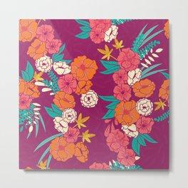Jungle Pattern 005 Metal Print