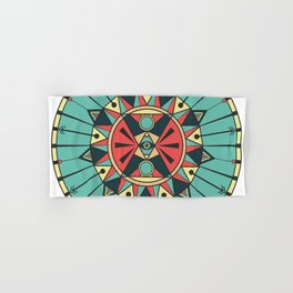 Sacred Wheel Hand & Bath Towel