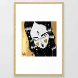 GOLDEN WITCH Framed Art Print