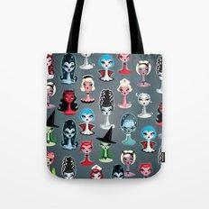 Spooky Dolls Pattern Tote Bag