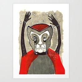 Draw off #83 Art Print