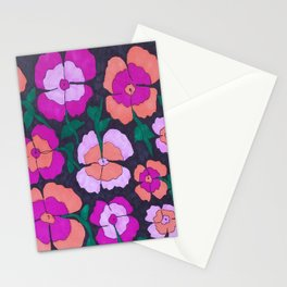 Summery Floral Garden Print Stationery Cards