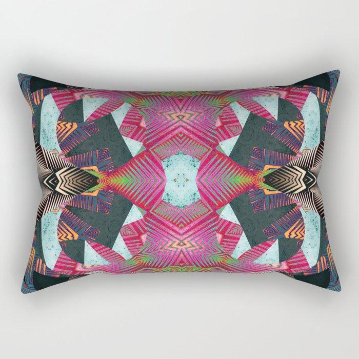 Life in Scope I Rectangular Pillow