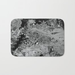 Abstract Acrylic Painting THE NIGHT Bath Mat
