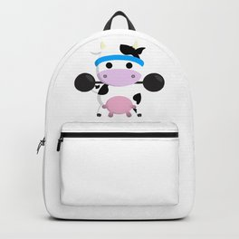 TeeTee - The Aerobic Cow #04 Backpack