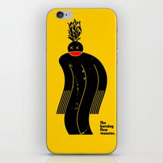 The Burning Flow Monster iPhone & iPod Skin