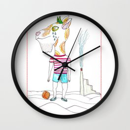 Goat Boy Why do not you have fun ? Wall Clock