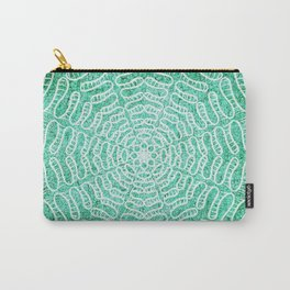 Cracked water mandala Carry-All Pouch