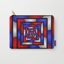 Colorful Tunnel 3 Digital Art Graphic Carry-All Pouch