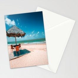 Beach side corner Stationery Cards