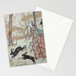 The Rabbit March Stationery Cards