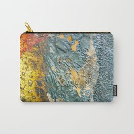 Colorful Abstract Texture Carry-All Pouch