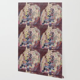 THE VIRGINS - GUSTAV KLIMT Wallpaper