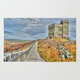 Cabot tower Rug