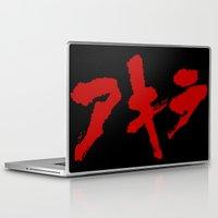 grafitti Laptop & iPad Skins featuring Akira Grafitti by InvaderDig
