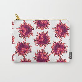 heart in flame pattern 3 Carry-All Pouch