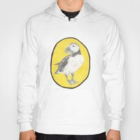 puffin Hoodies featuring Puffin by CSMalcolm Illustration