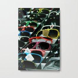 Sunglasses 101 Metal Print