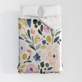 Sierra Floral Duvet Cover
