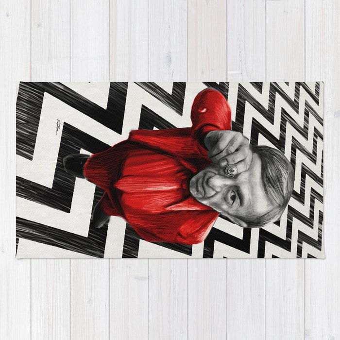 Homage To Twin Peaks Fire Walk With Me Rug