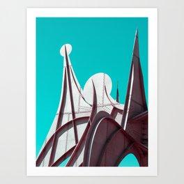 Surreal Montreal 3 Art Print