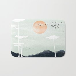 all the way back to the nest Bath Mat