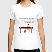forrest T-shirts featuring Forrest Gump by Christina