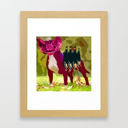 Carbohydrate Gaz Framed Art Print