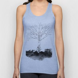 Animal Tree Unisex Tank Top