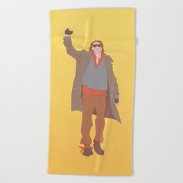 Sincerely Yours (The Breakfast Club) Beach Towel
