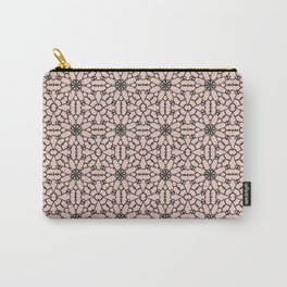 Pale Dogwood Lace Carry-All Pouch