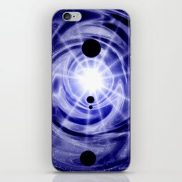 Gravitationswellen. iPhone Skin