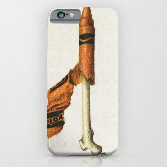To The Core: Orange iPhone & iPod Case