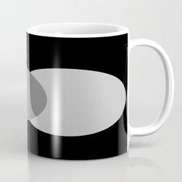 Pink Gray Black : Mod Circles Coffee Mug