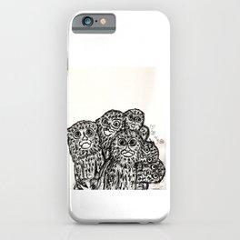 Marmoset Cuddle Puddle iPhone Case