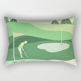 On The Green Two Stokes Under Rectangular Pillow