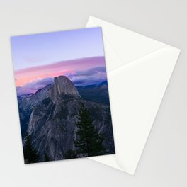Yosemite National Park at Sunset Stationery Cards