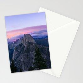 Yosemite National Park at Sunset Stationery Cards