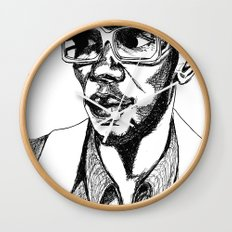 Mighty Mos Def Wall Clock