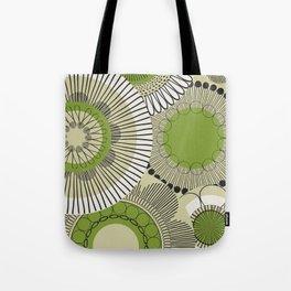 Kiwi flowers Tote Bag