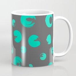 green flecked pattern Coffee Mug