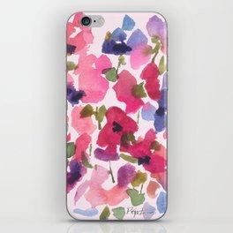 Monet's Rose Garden iPhone Skin
