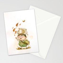Teapot Child Stationery Cards