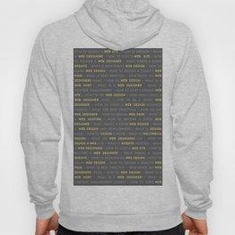Yellow Web Design Keywords Poster Hoody