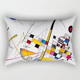 Kandinsky - Delicate Tension Rectangular Pillow