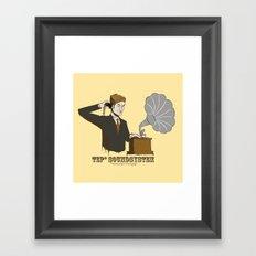 TEP Soundsystem* Framed Art Print