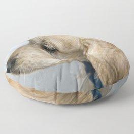 Buddy in profile Floor Pillow