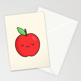 Cute Apple Stationery Cards