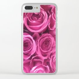 Rose Squeeze Clear iPhone Case