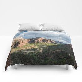 Zion Canyon, Zion National Park Comforters